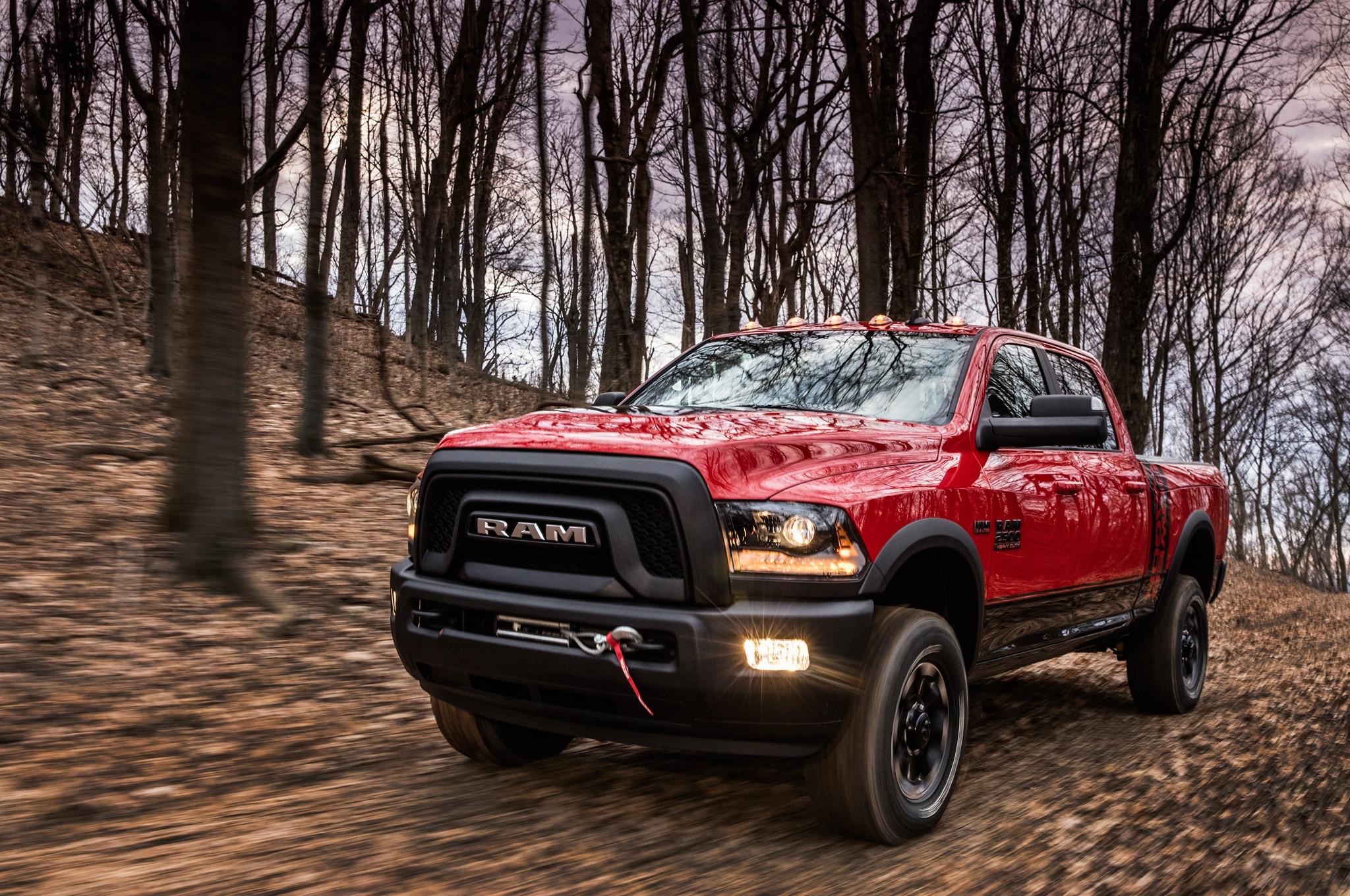2017 Ram 2500 Power Wagon Front Three Quarter 06