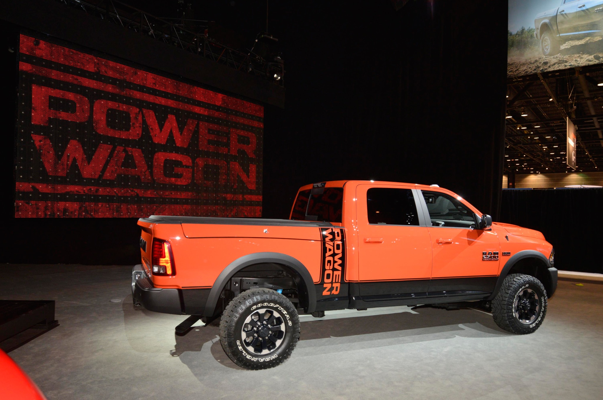 putting the power in the power wagon. Black Bedroom Furniture Sets. Home Design Ideas