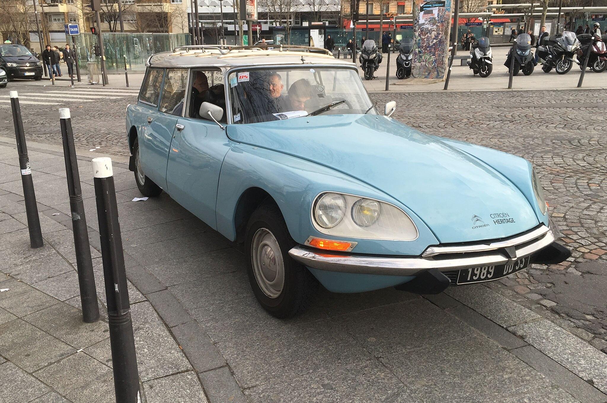 Citroen At Paris Retromobile
