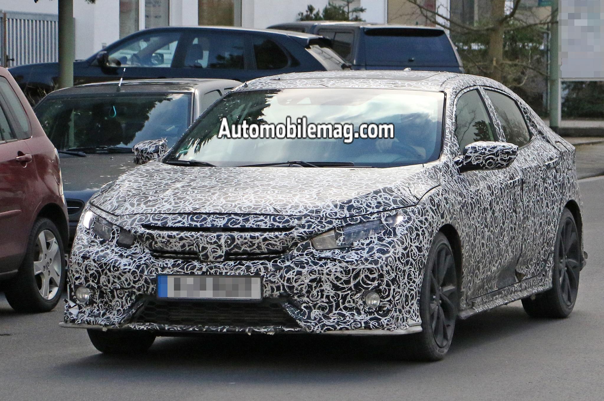 10th Generation Civic Exclusive Pakistan Launch - Honda Civic Hatch Spyshot front 2?interpolationlanczos none