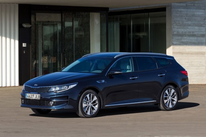 Kia Optima Sportswagon Euro Spec