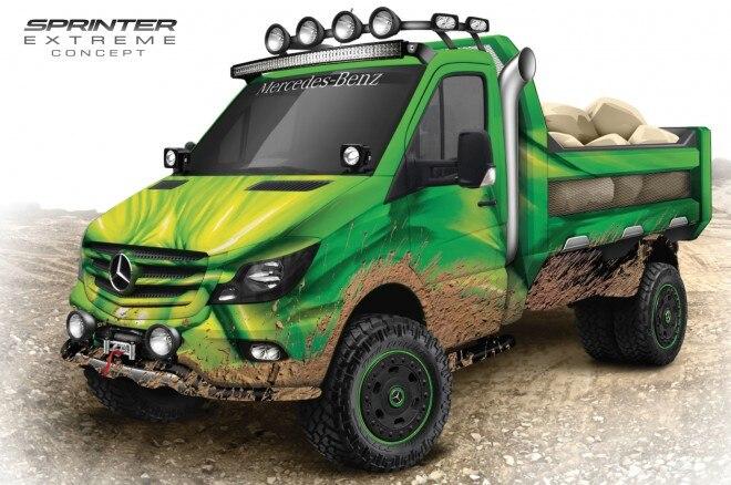 Mercedes Benz Sprinter Extreme concept sketch