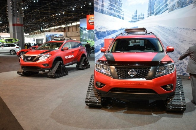 Nissan Rogue Warrior Concept front end