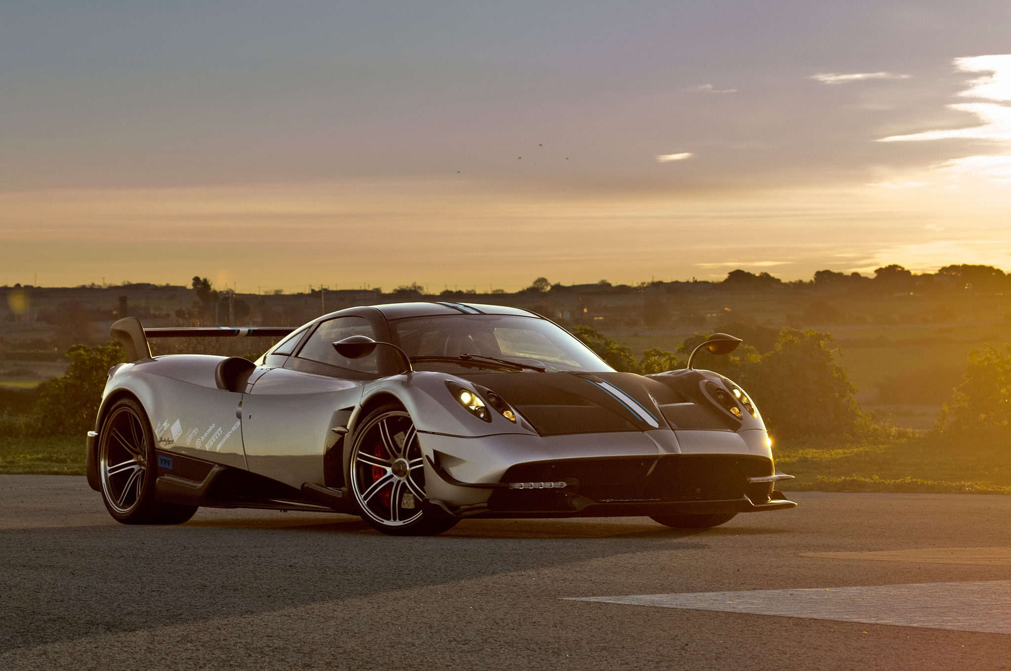 Watch a Pagani Huayra BC Spit Blue Flames | Automobile ...