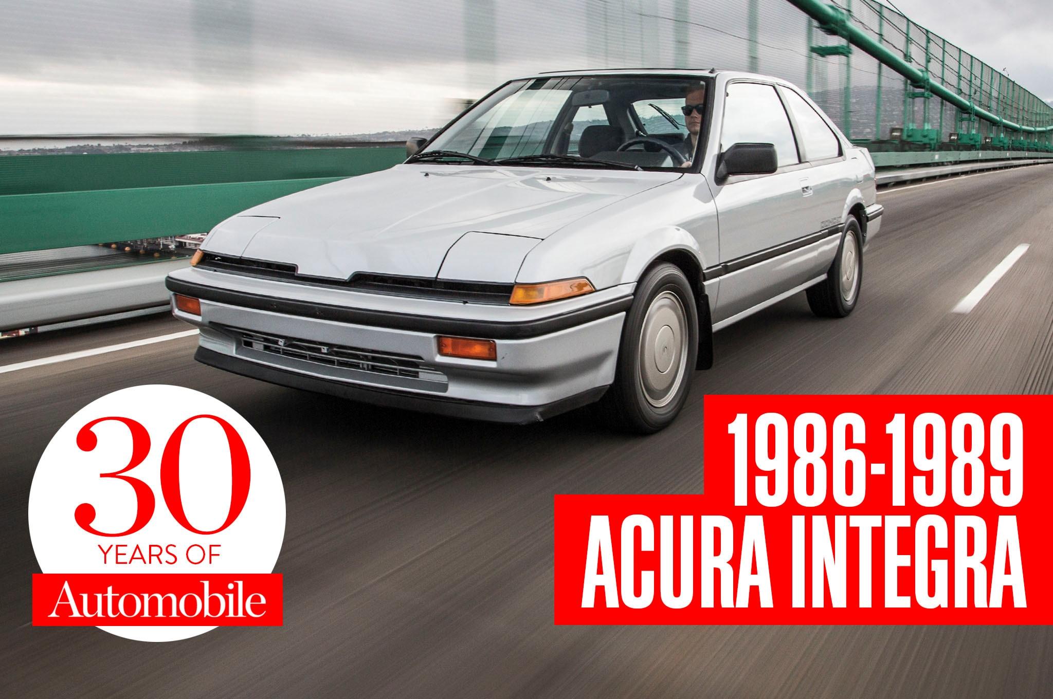2001 Acura Integra Ls >> Collectible Classic: 1986-1989 Acura Integra