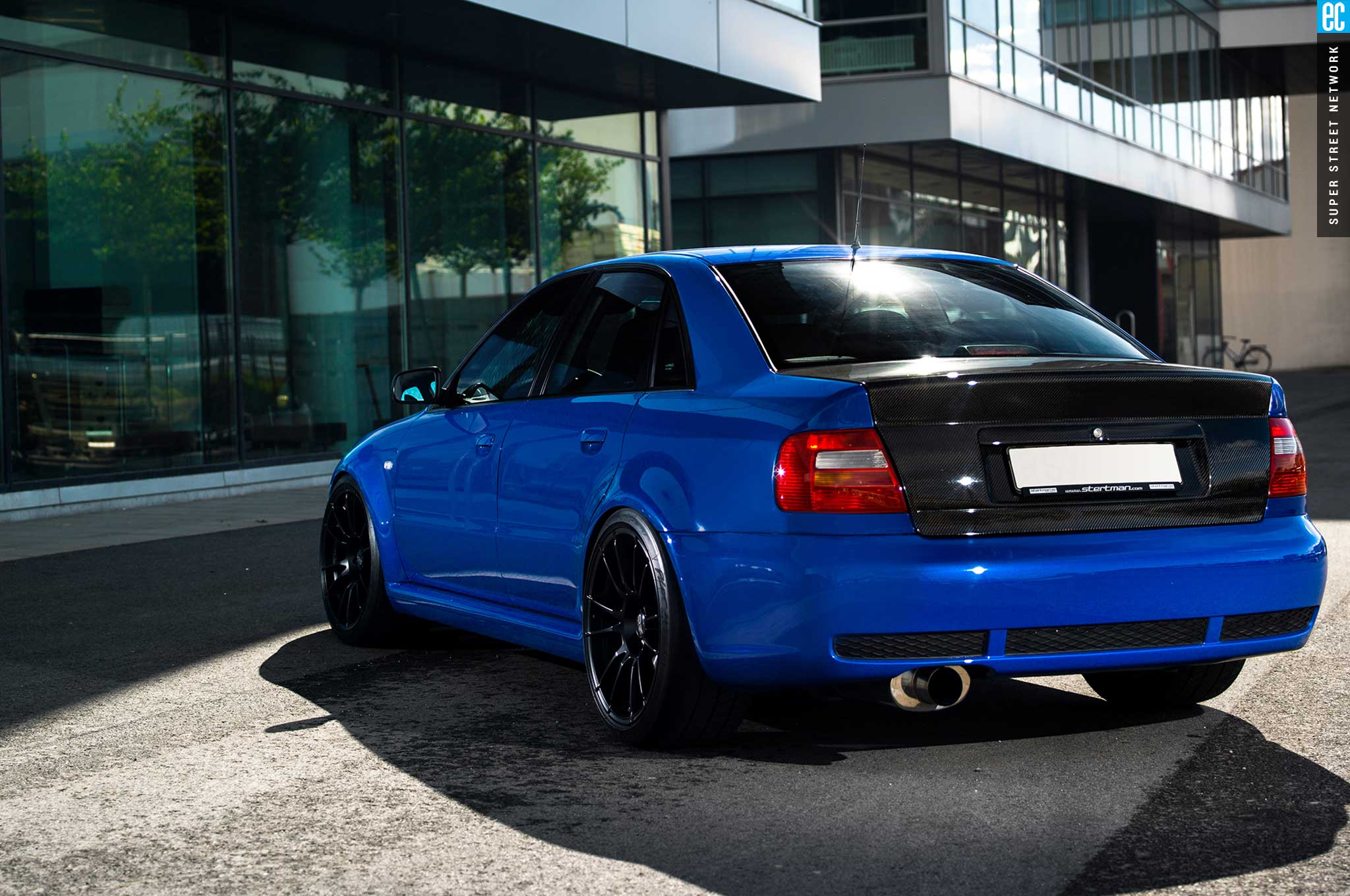 Building The BGeneration Audi RS Sedan That Audi Never Offered - Audi rs4