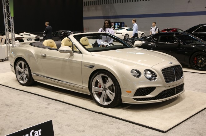 bentley continental gt chicago auto show