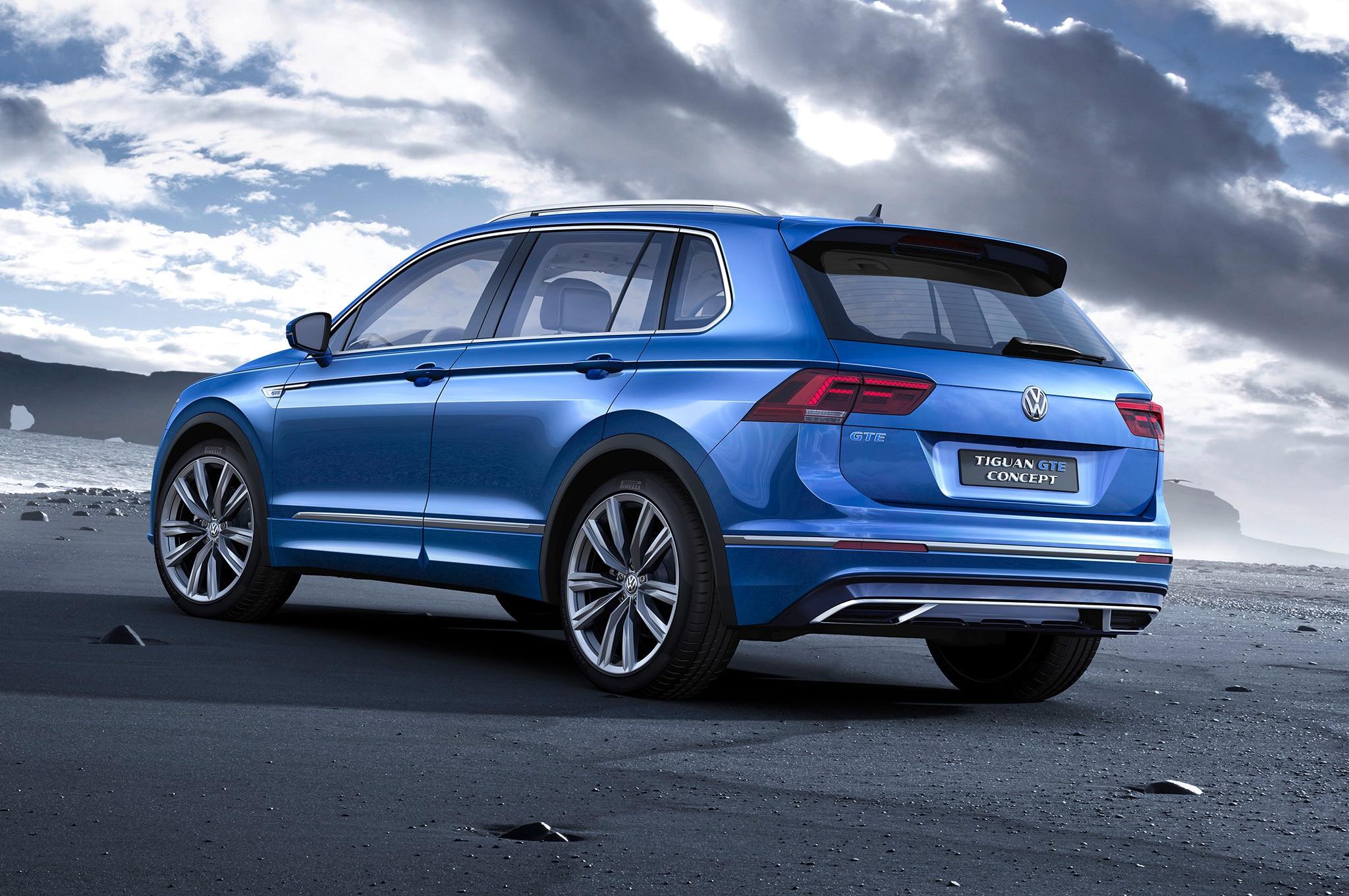 Report: Volkswagen to Expand Tiguan Range of Compact SUVs