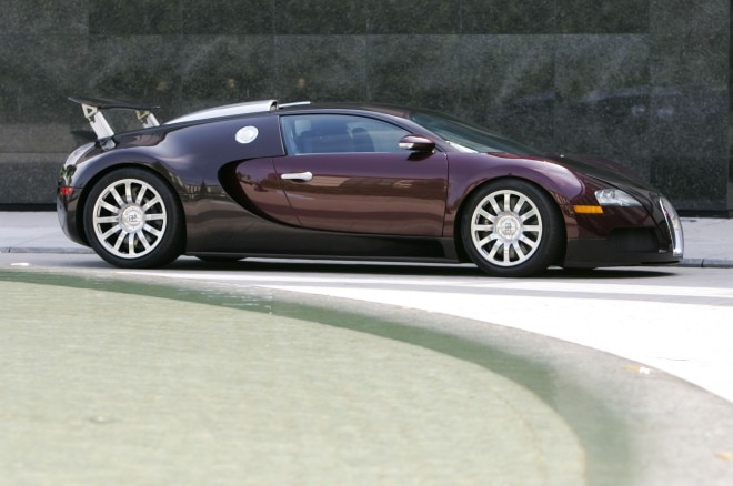 2005 Bugatti Veyron EB 164 side profile