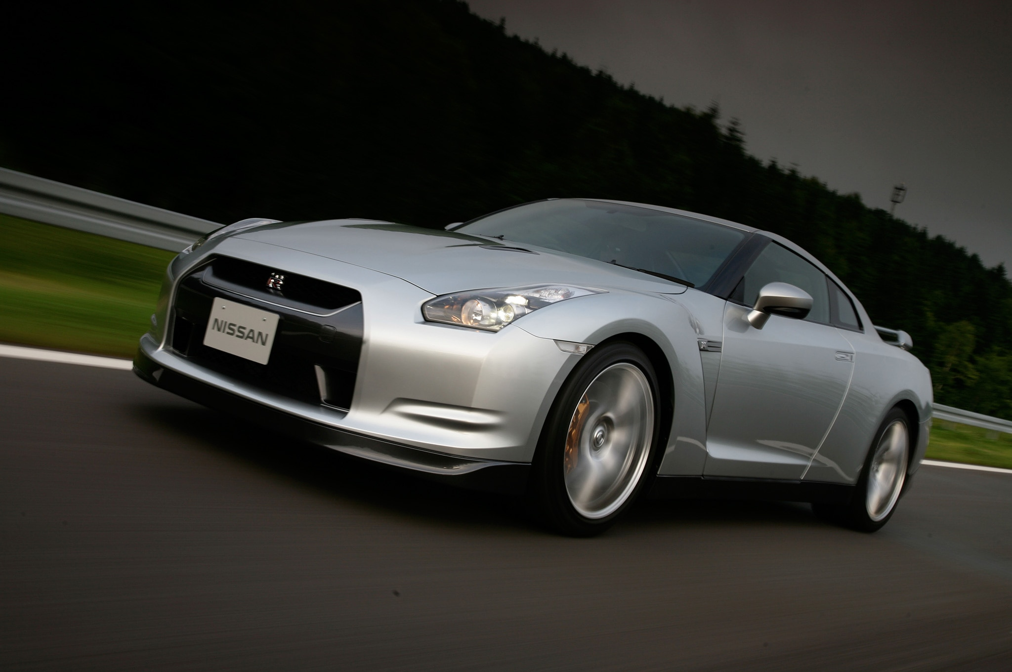 2009 Nissan GT R Front Three Quarter Motion