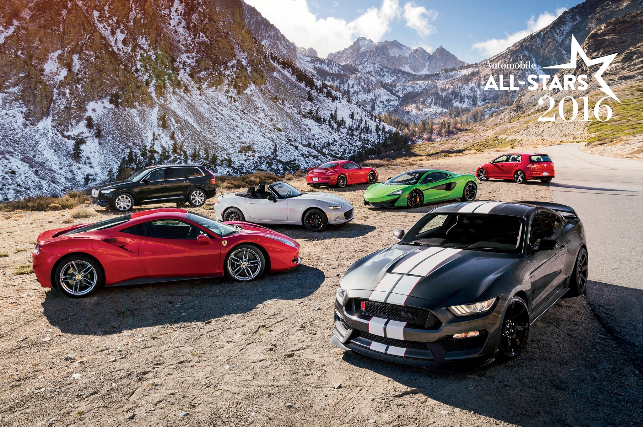 2016 AUTOMOBILE All-Stars: The Magnificent 7