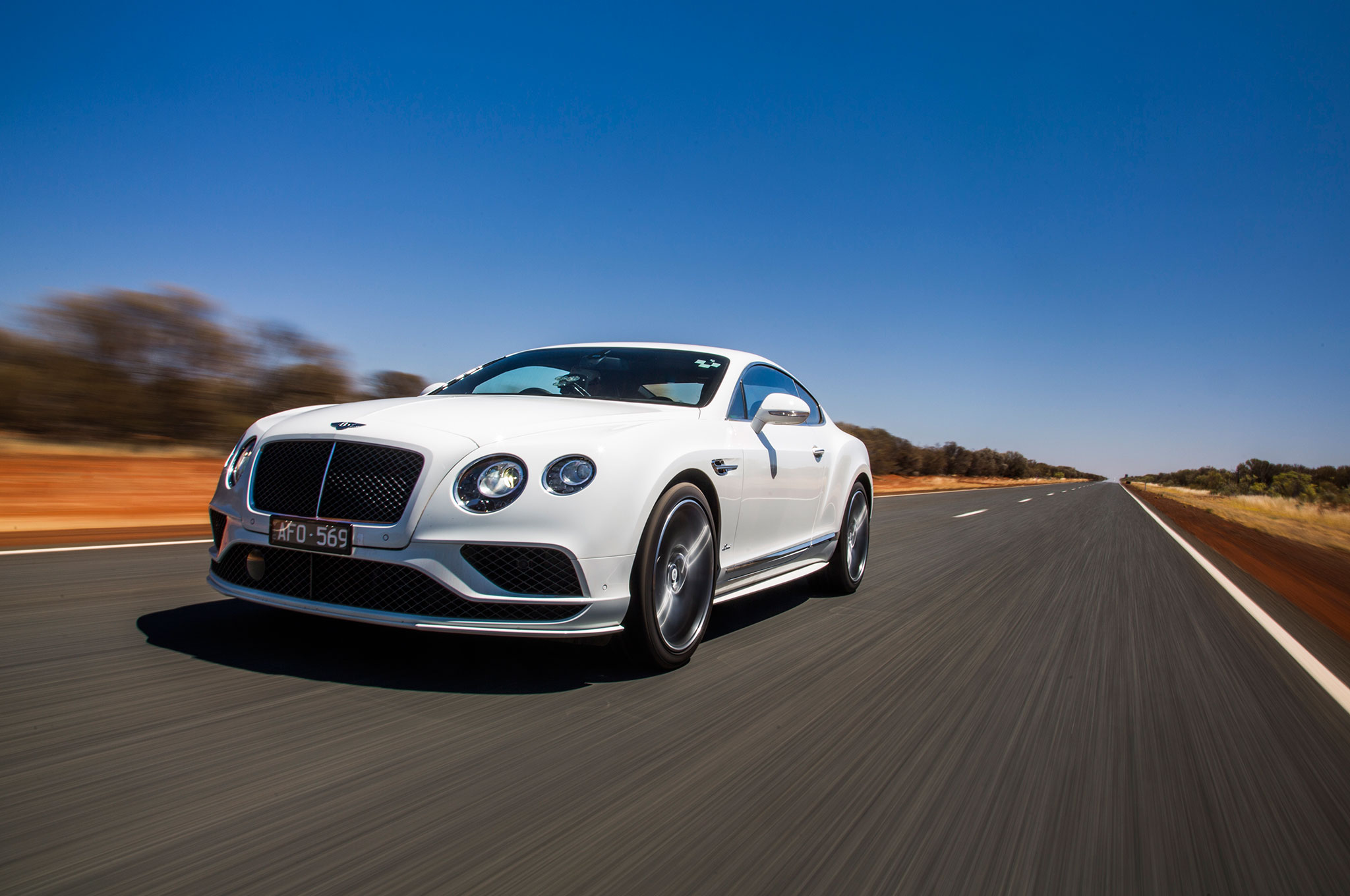 2016 Bentley Continental GT Speed Front Three Quarter In Motion 08