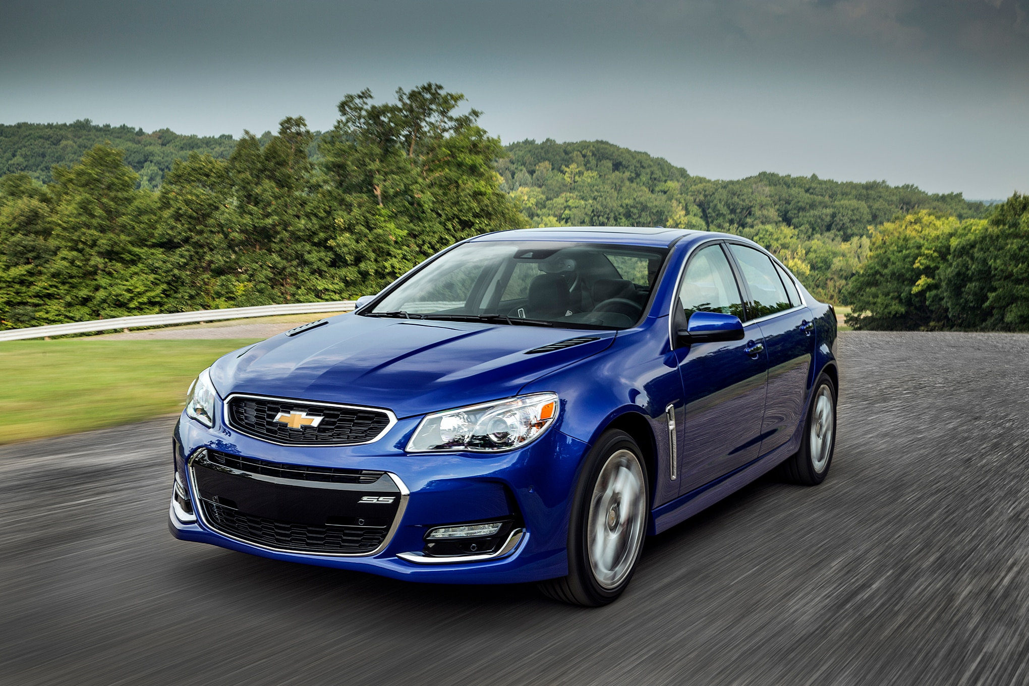 2016 Chevrolet SS Front Three Quarter In Motion