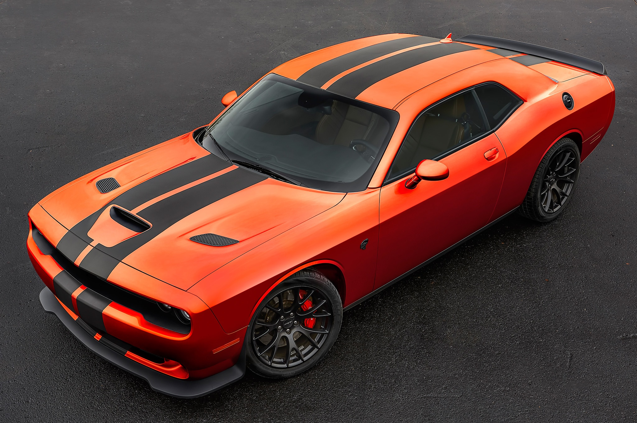 2016 Dodge Challenger Charger Srt And Hellcat Go Mango