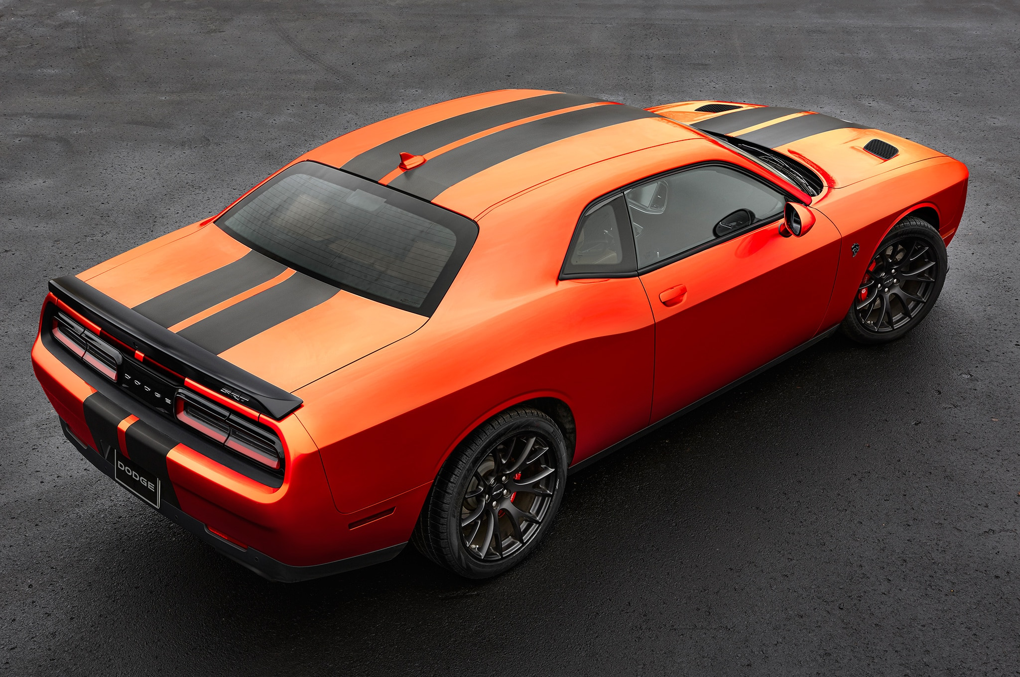 2016 dodge challenger charger srt and hellcat go mango with new paint automobile magazine. Black Bedroom Furniture Sets. Home Design Ideas