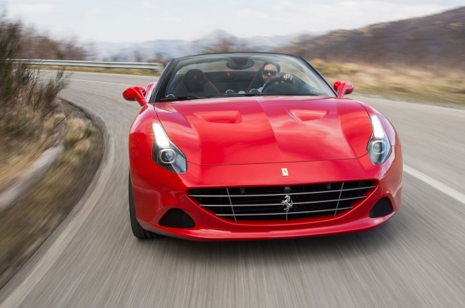 2016 Ferrari California T Handling Speciale front view in motion