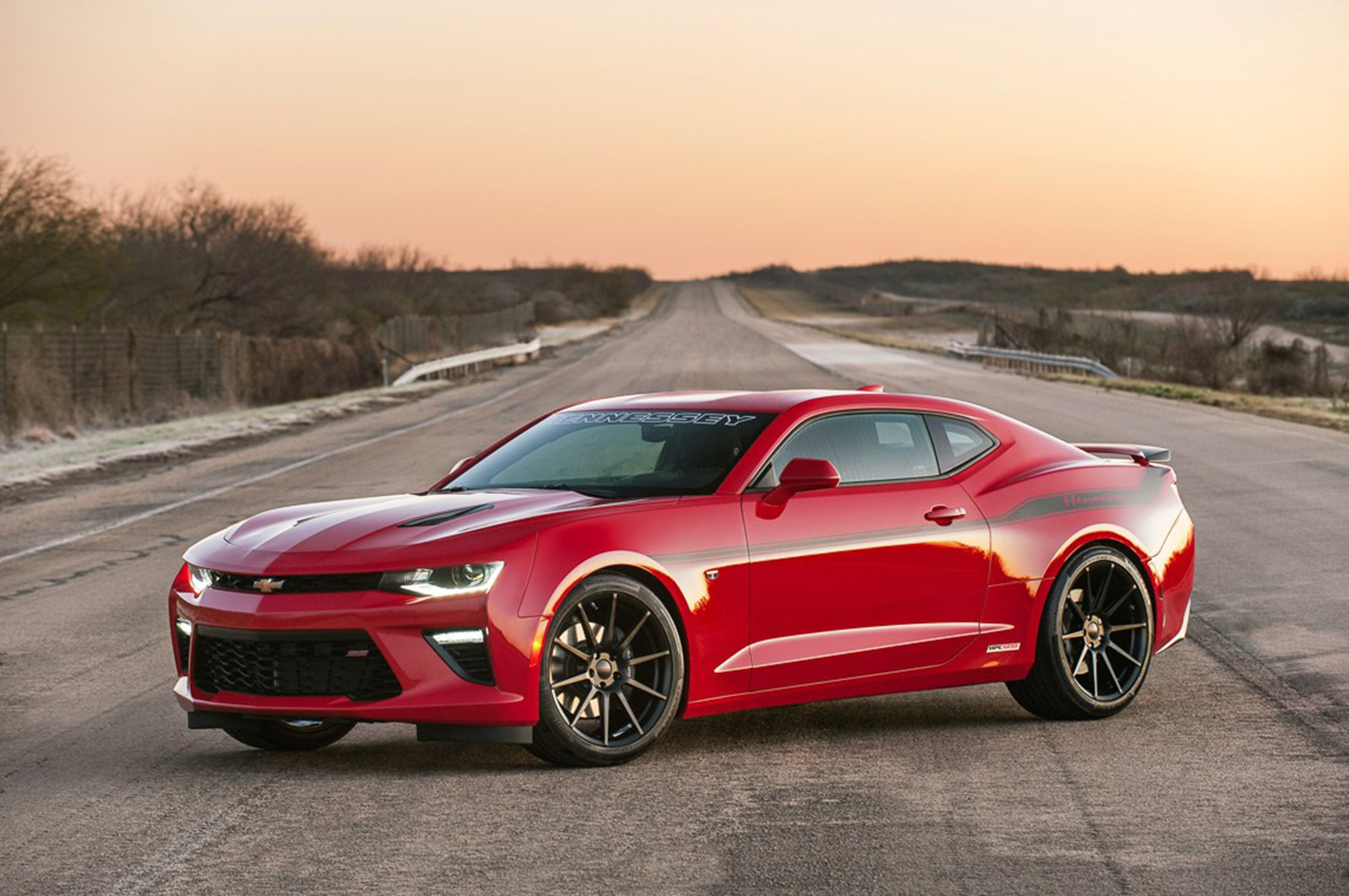 Hennessey Performance Cracks 200 mph in a 2016 Chevrolet ...