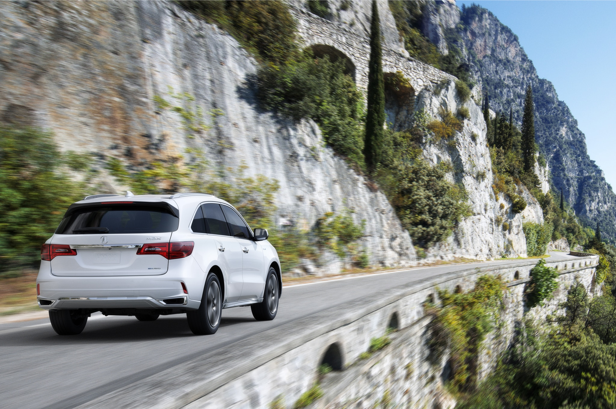 acura mdx debuts new nose sport hybrid model for new york 2017 acura ...