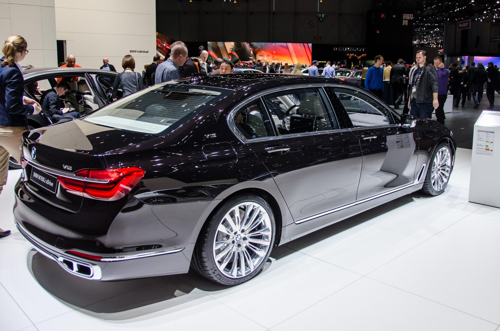 2017 BMW M760i xDrive is a 12 Cylinder High Performance Luxury Sedan