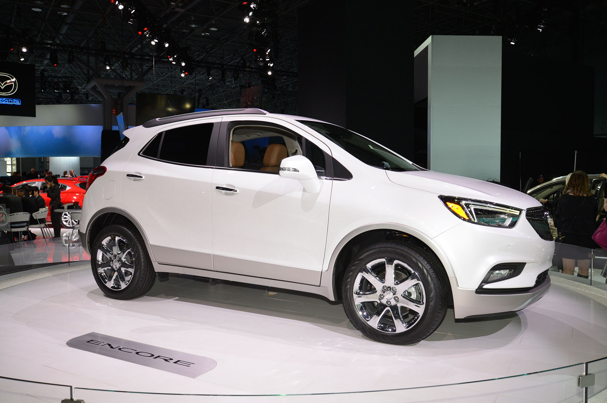2017 Buick Encore Refreshed at New York Auto Show ...