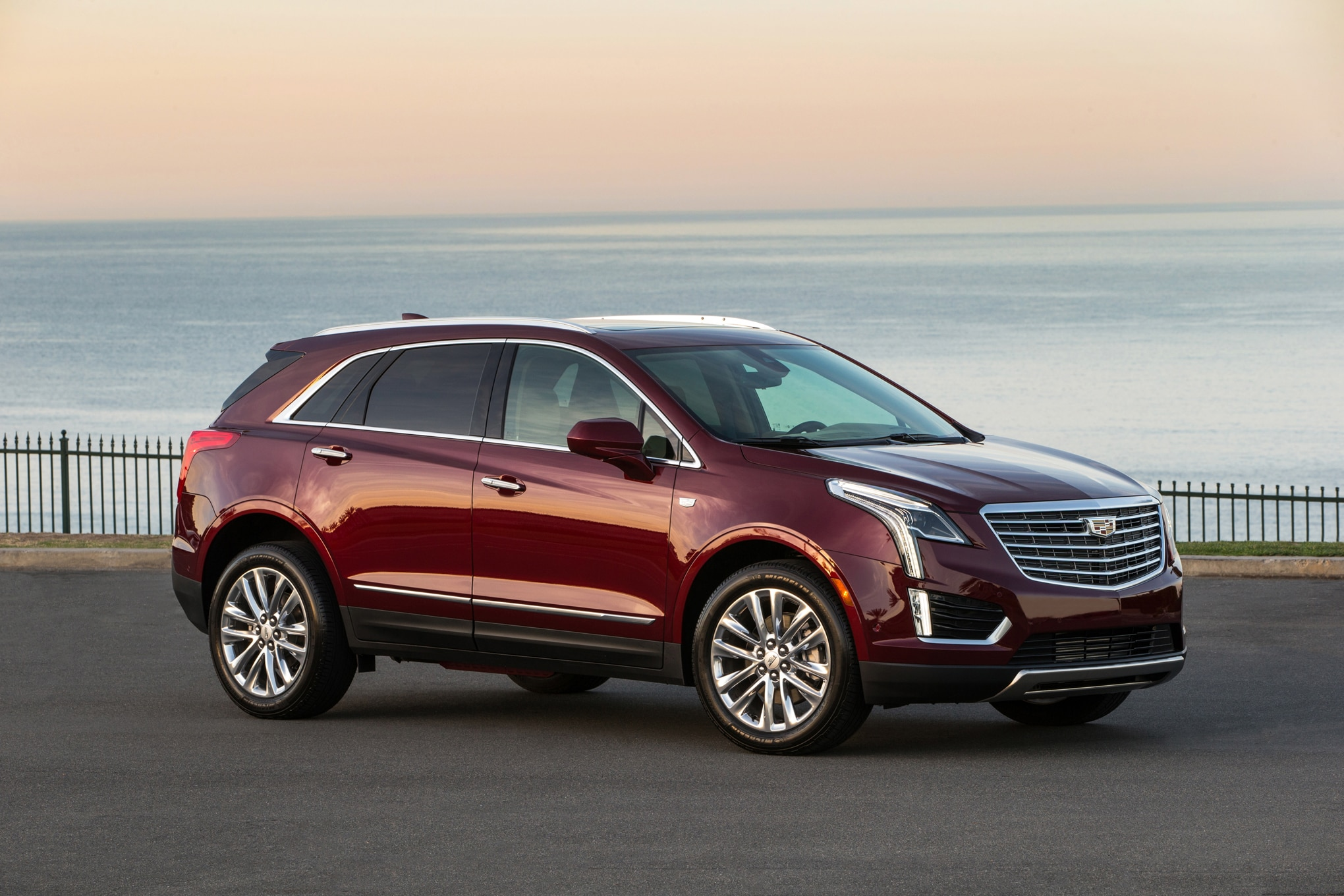2017 Cadillac XT5 front three quarter 05 cadillac xt5 could soon gain four cylinder turbo automobile magazine Cadillac CTS 2003 Wiring-Diagram at reclaimingppi.co