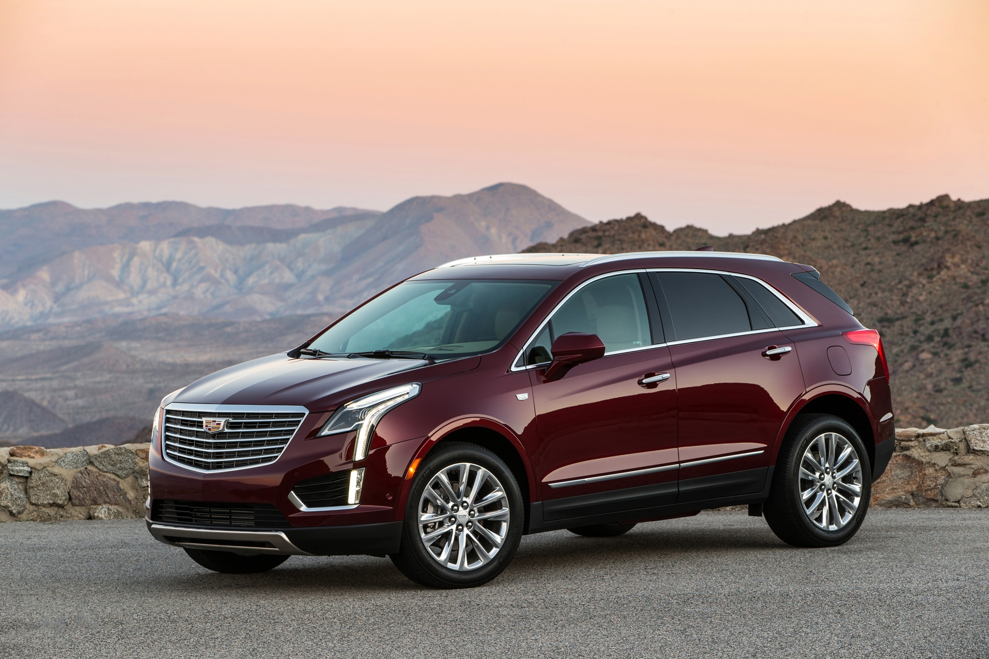 2017 Cadillac XT5 front three quarters cadillac xt5 could soon gain four cylinder turbo automobile magazine Cadillac CTS 2003 Wiring-Diagram at reclaimingppi.co
