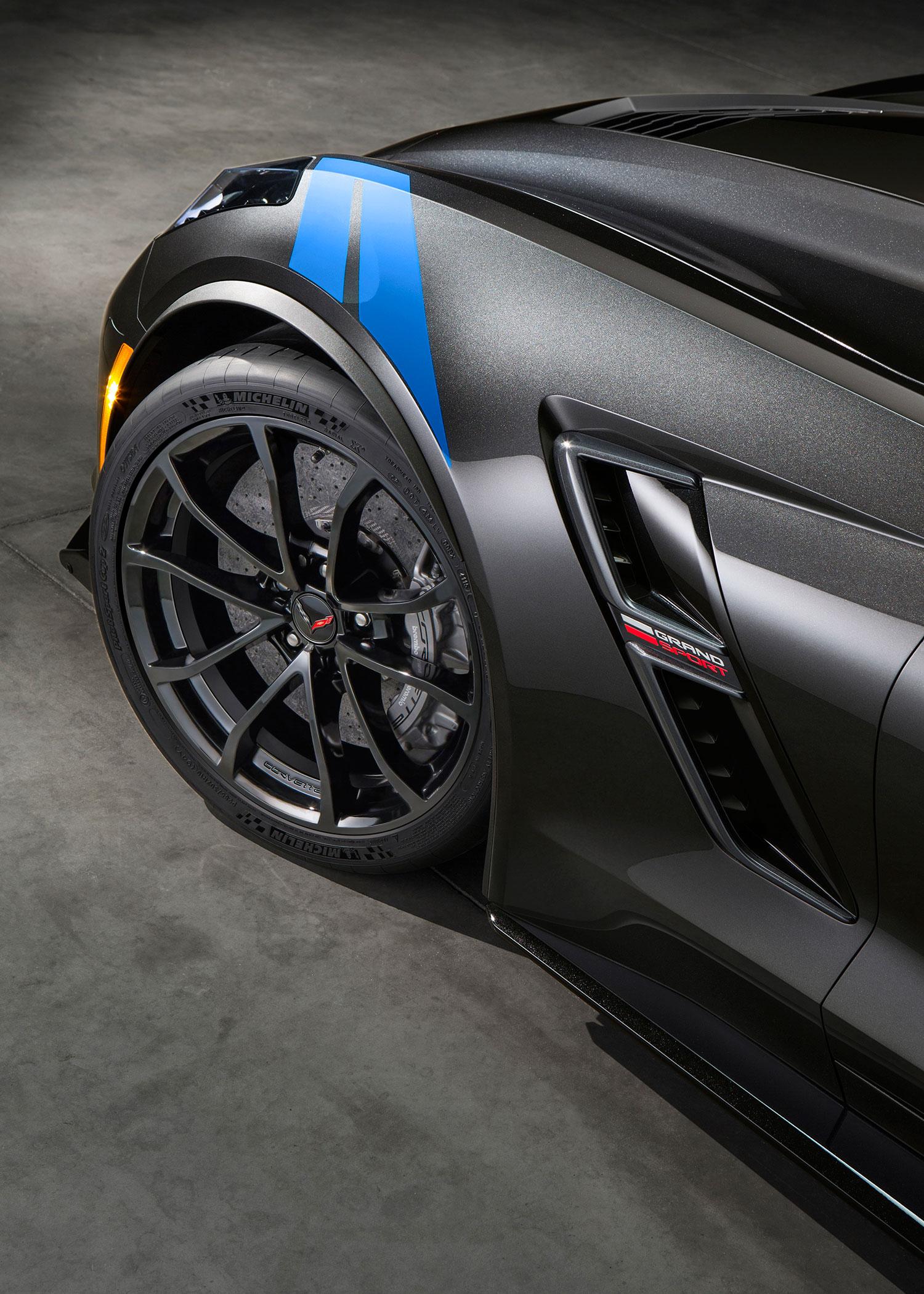 2017 Chevrolet Corvette Grand Sport Bridges C7 Stingray and Z06 ...