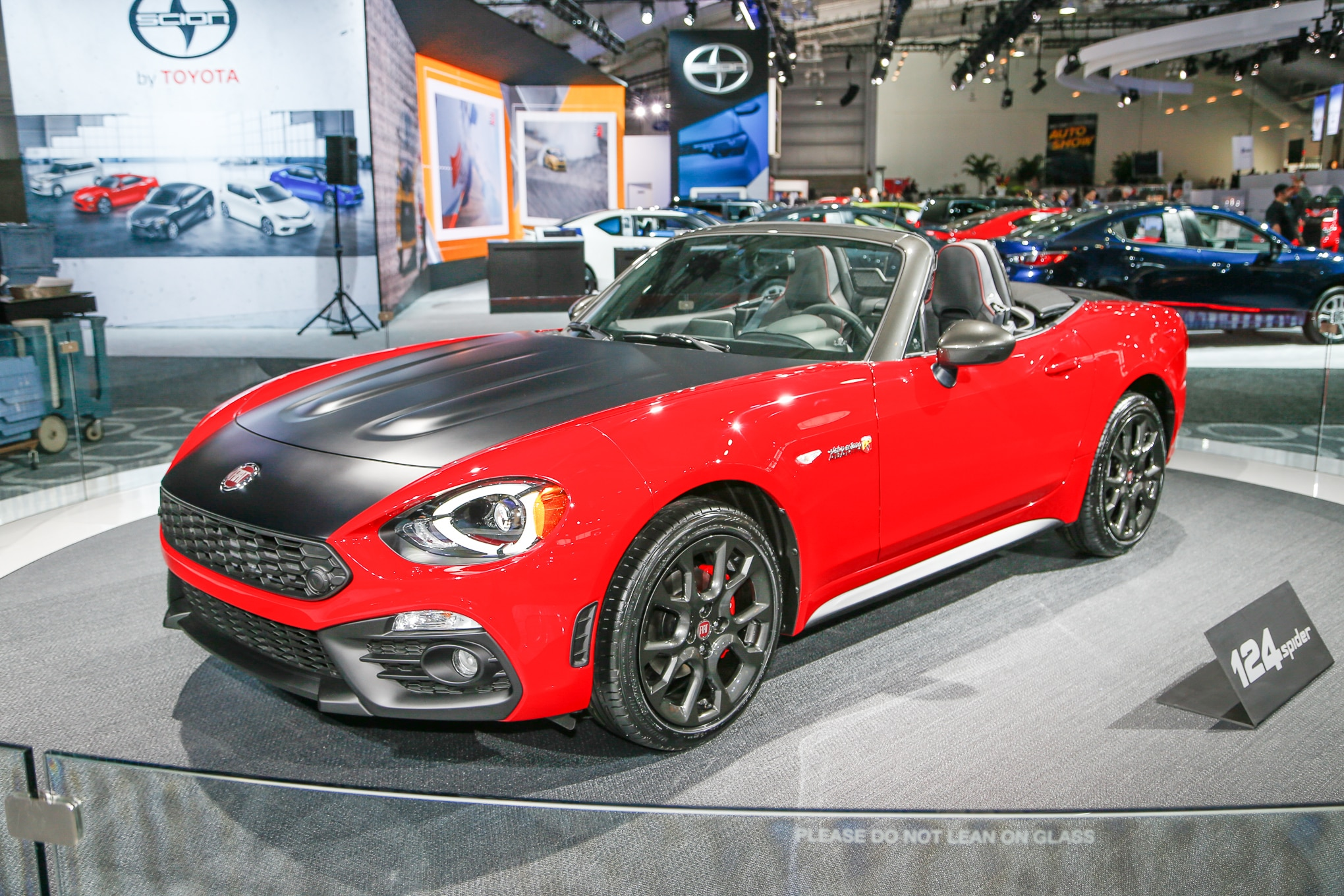 2017 FIat 124 Elaborazione Abarth Front Three Quarter