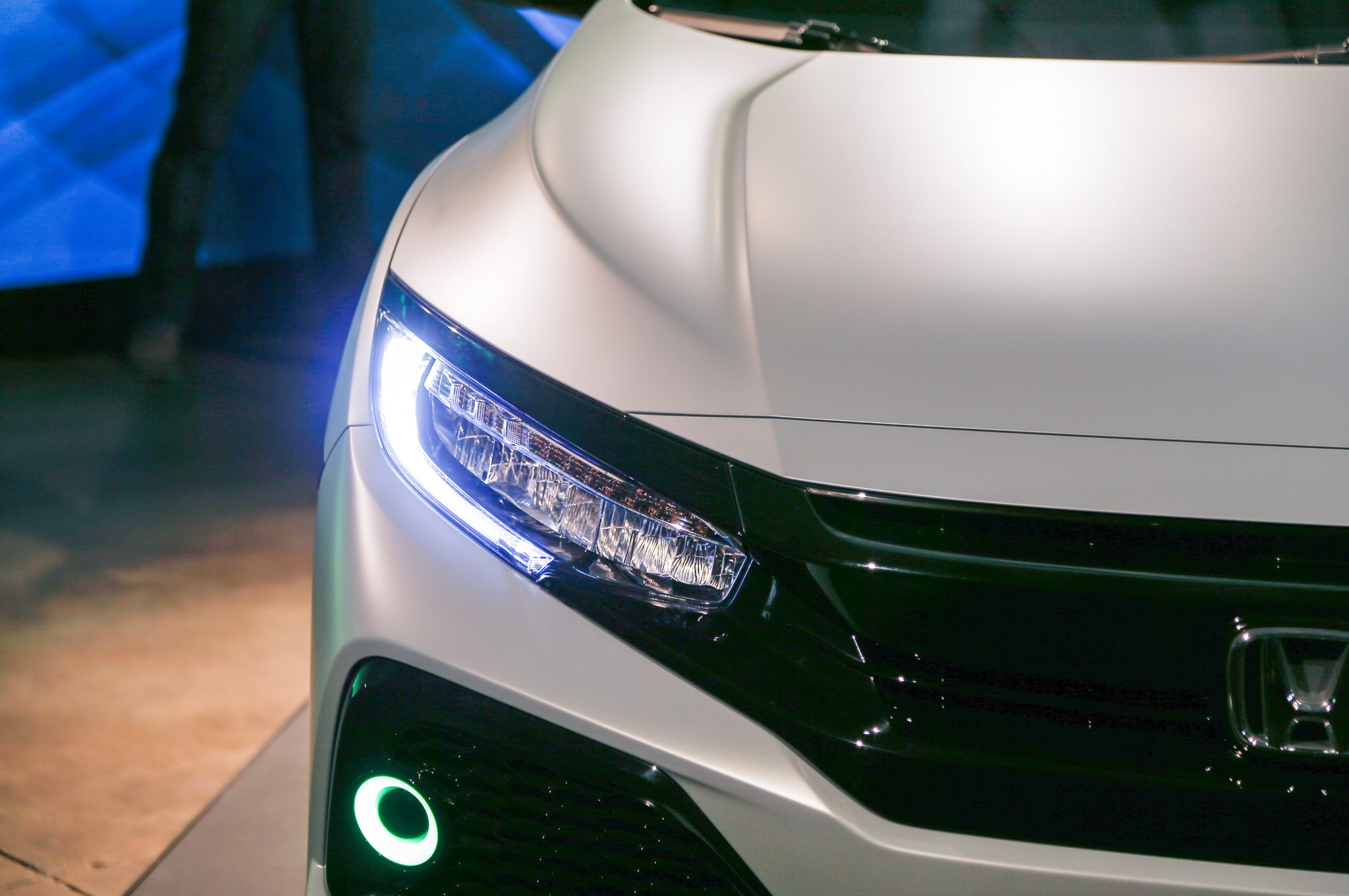 2017 Honda Civic Hatchback Prototype Revealed in New York