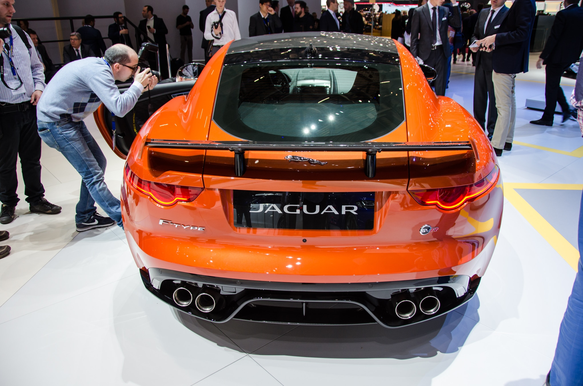 Simple 2017 Jaguar FType SVR Brings A 575HP Punch To Geneva