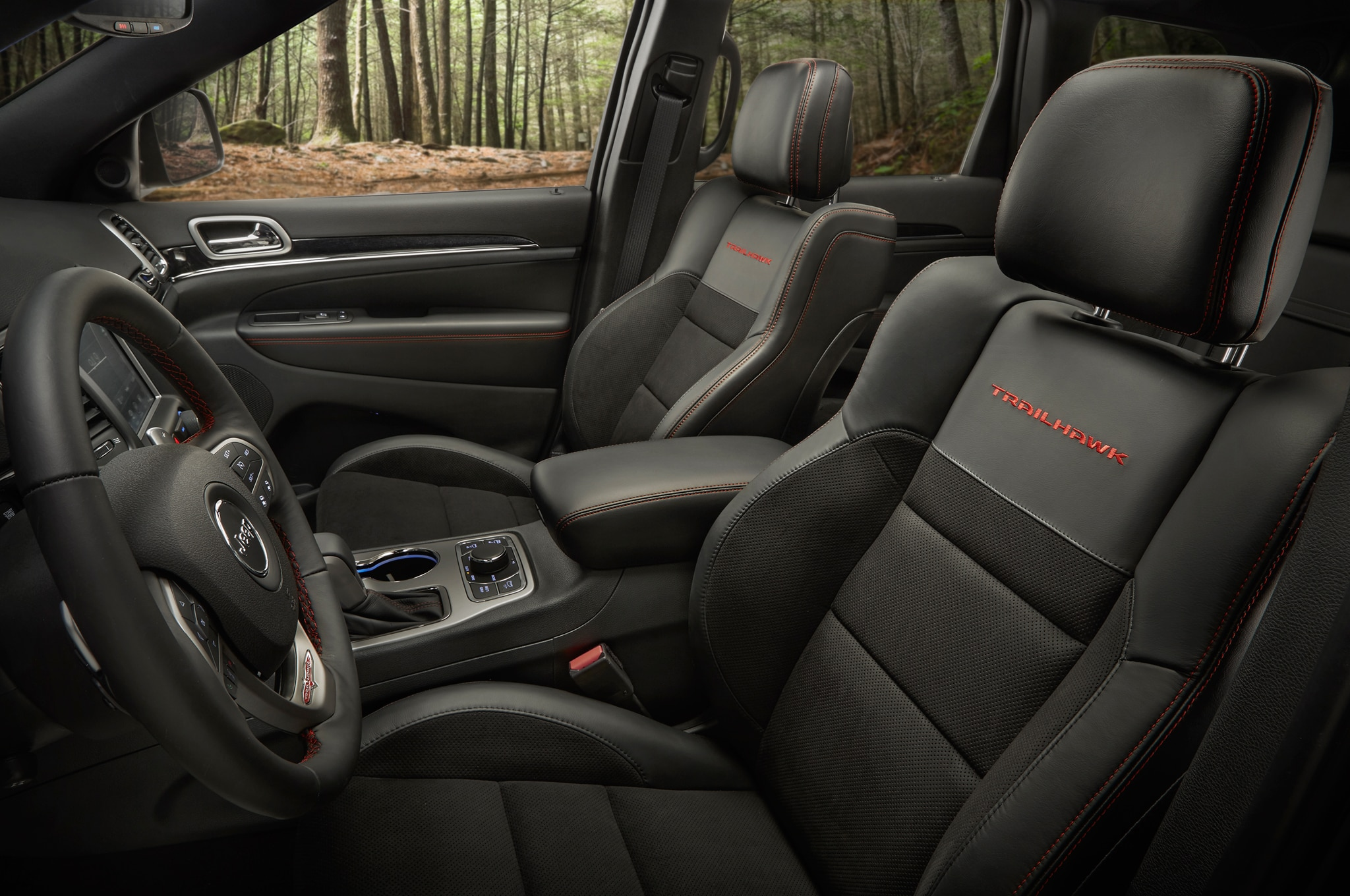 2017 jeep grand cherokee adds trailhawk updates summit - 2017 jeep grand cherokee interior colors ...