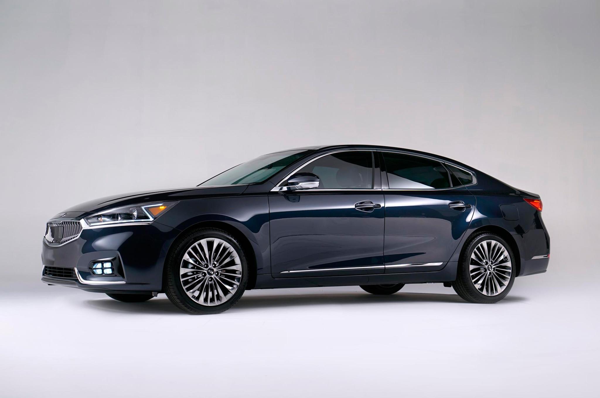 2017 Kia Cadenza Sedan Bows In New York Automobile Magazine