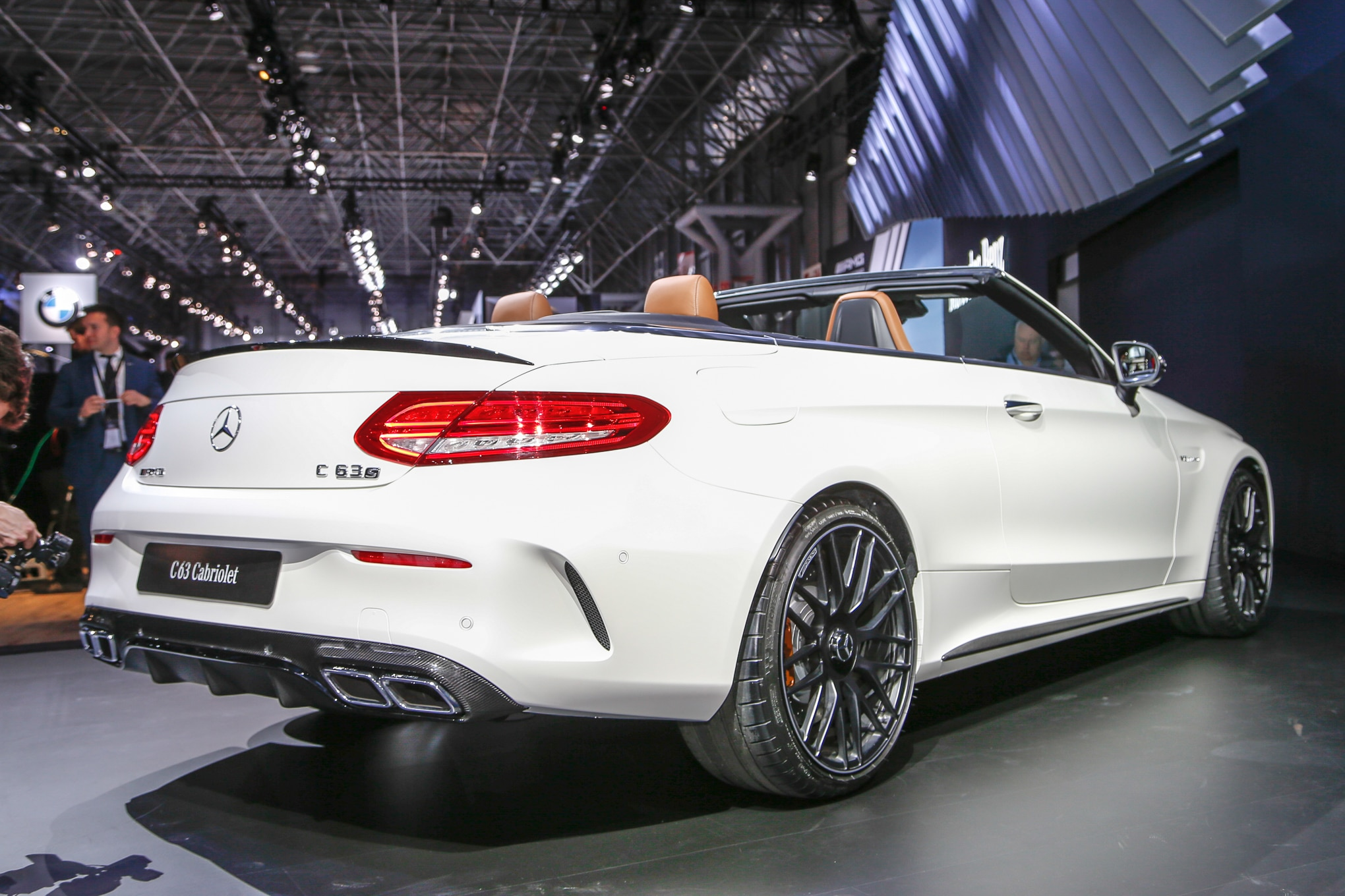 2017 Mercedes Amg C63 Cabriolet Revealed At 2016 New York