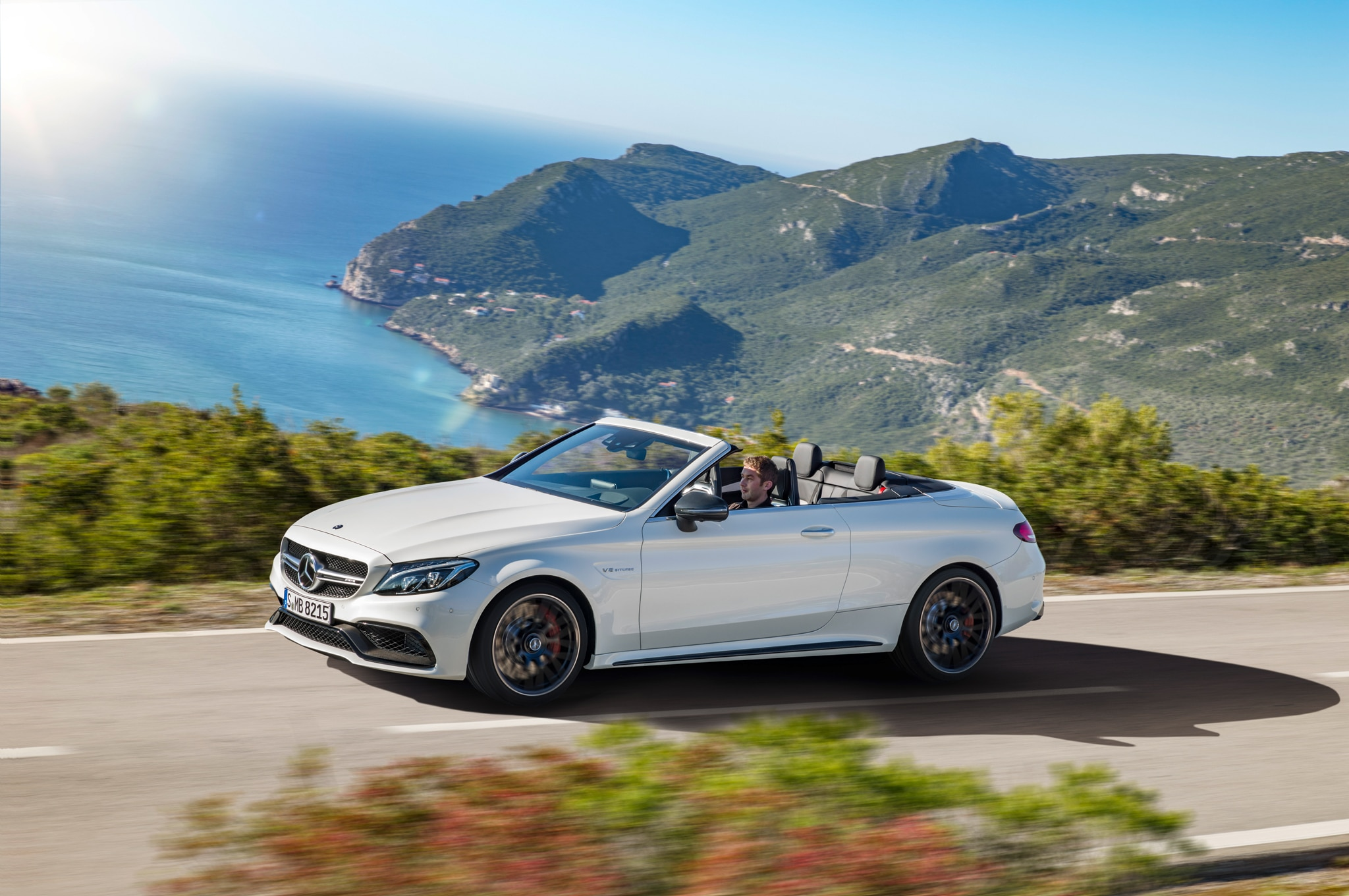 2017 mercedes amg c63 cabriolet revealed at 2016 new york auto show. Black Bedroom Furniture Sets. Home Design Ideas