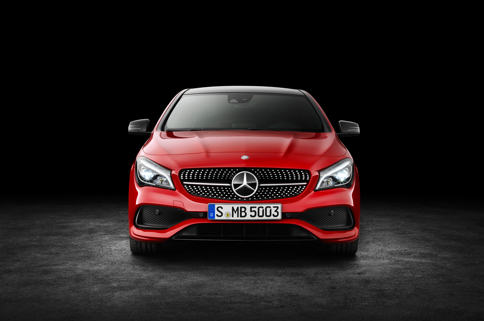2017 mercedes benz cla250 cla45 refreshed in new york for New mercedes benz cla