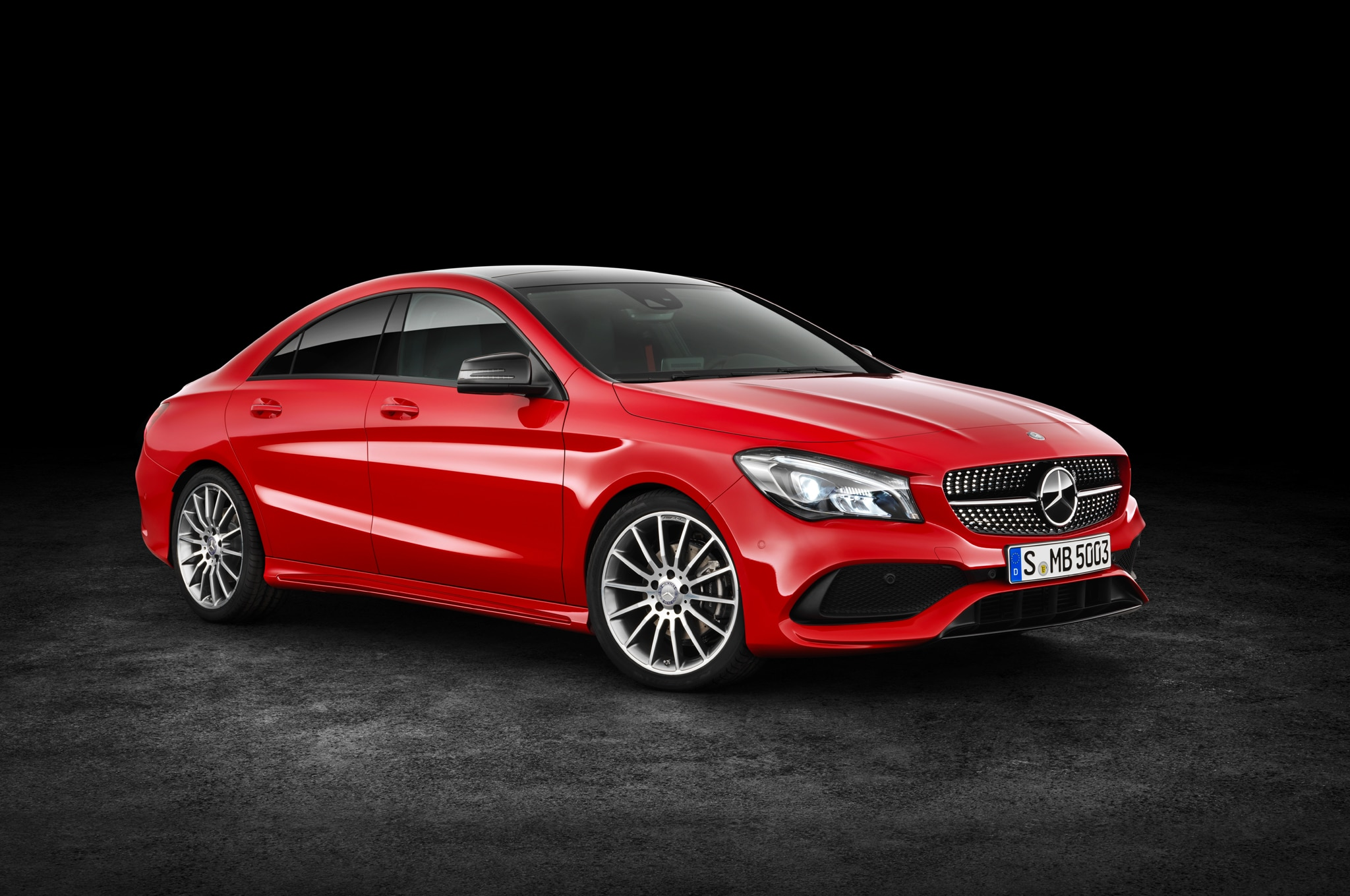 2017 mercedes benz cla250 cla45 refreshed in new york for Mercedes benz cla 2017