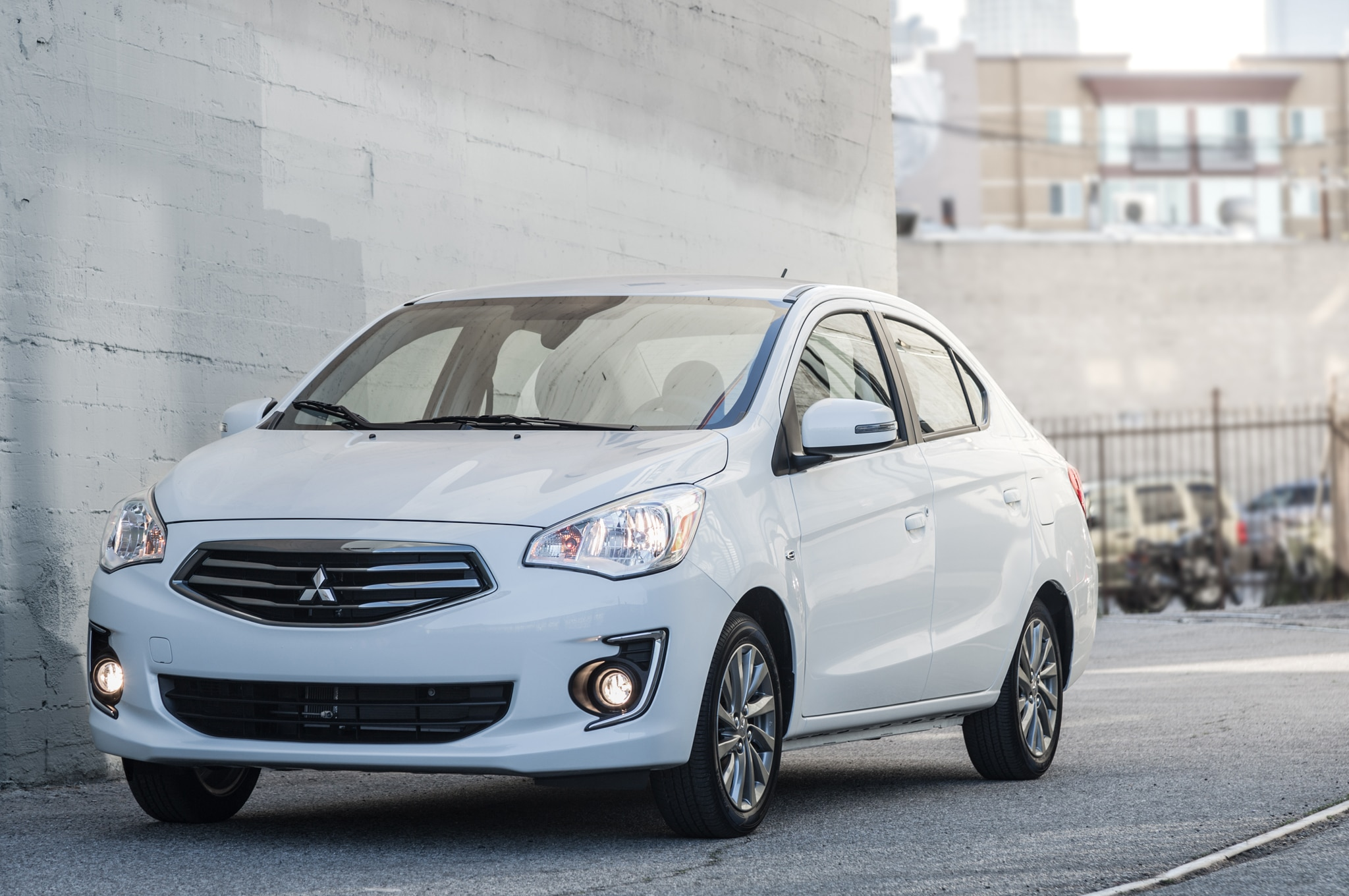 2017 Mitsubishi Mirage G4 Sedan Debuts In New York
