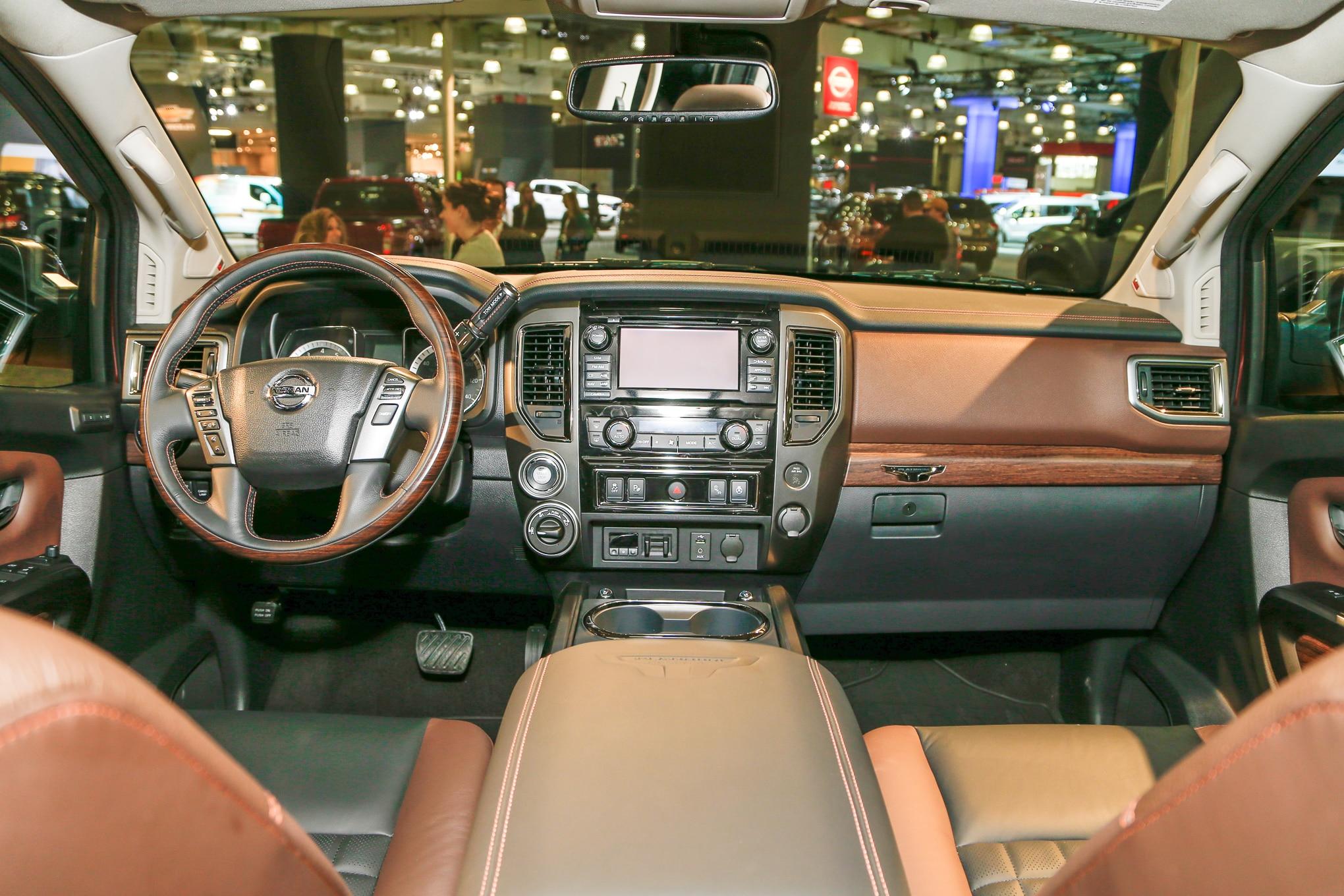 Nissan Nv3500 For Sale >> 2017 Nissan Titan Half-Ton Debuts at New York Auto Show   Automobile Magazine