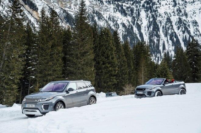 2017 Range Rover Evoque Convertible group