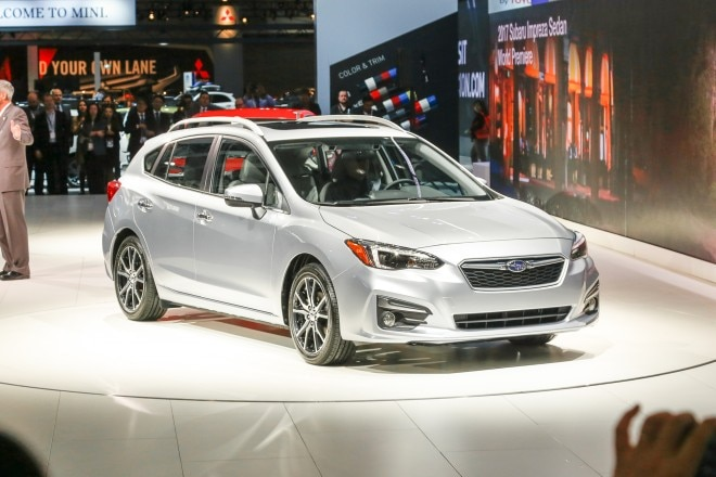 2017 Subaru Impreza 5 Door Front Three Quarters 660x440