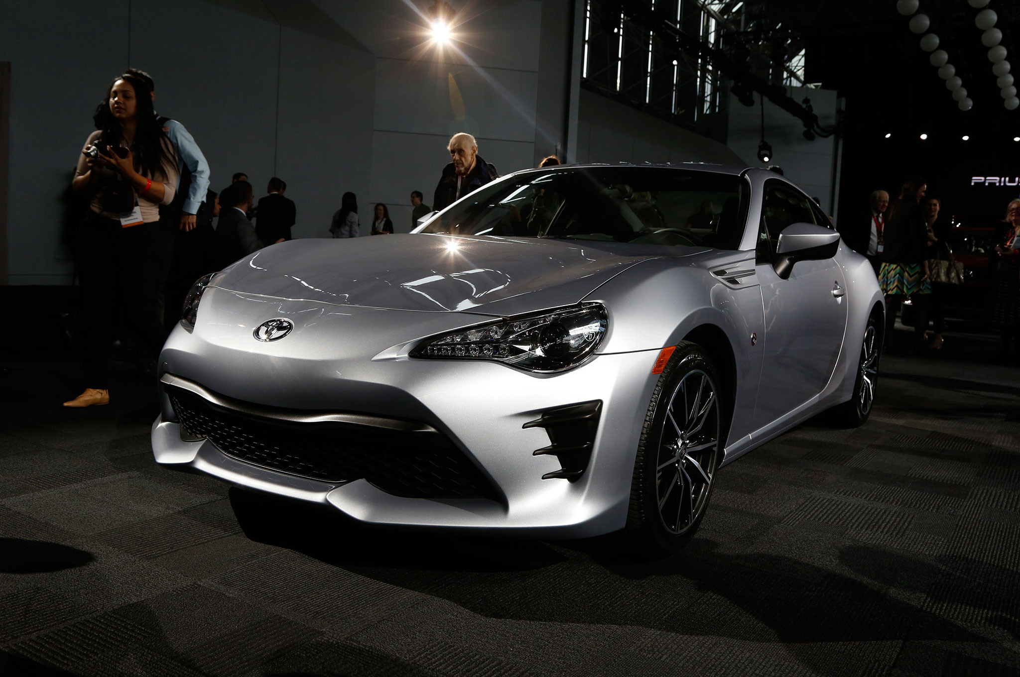 2017 toyota 86 revealed for new york the scion fr s gets a new name automobile magazine. Black Bedroom Furniture Sets. Home Design Ideas