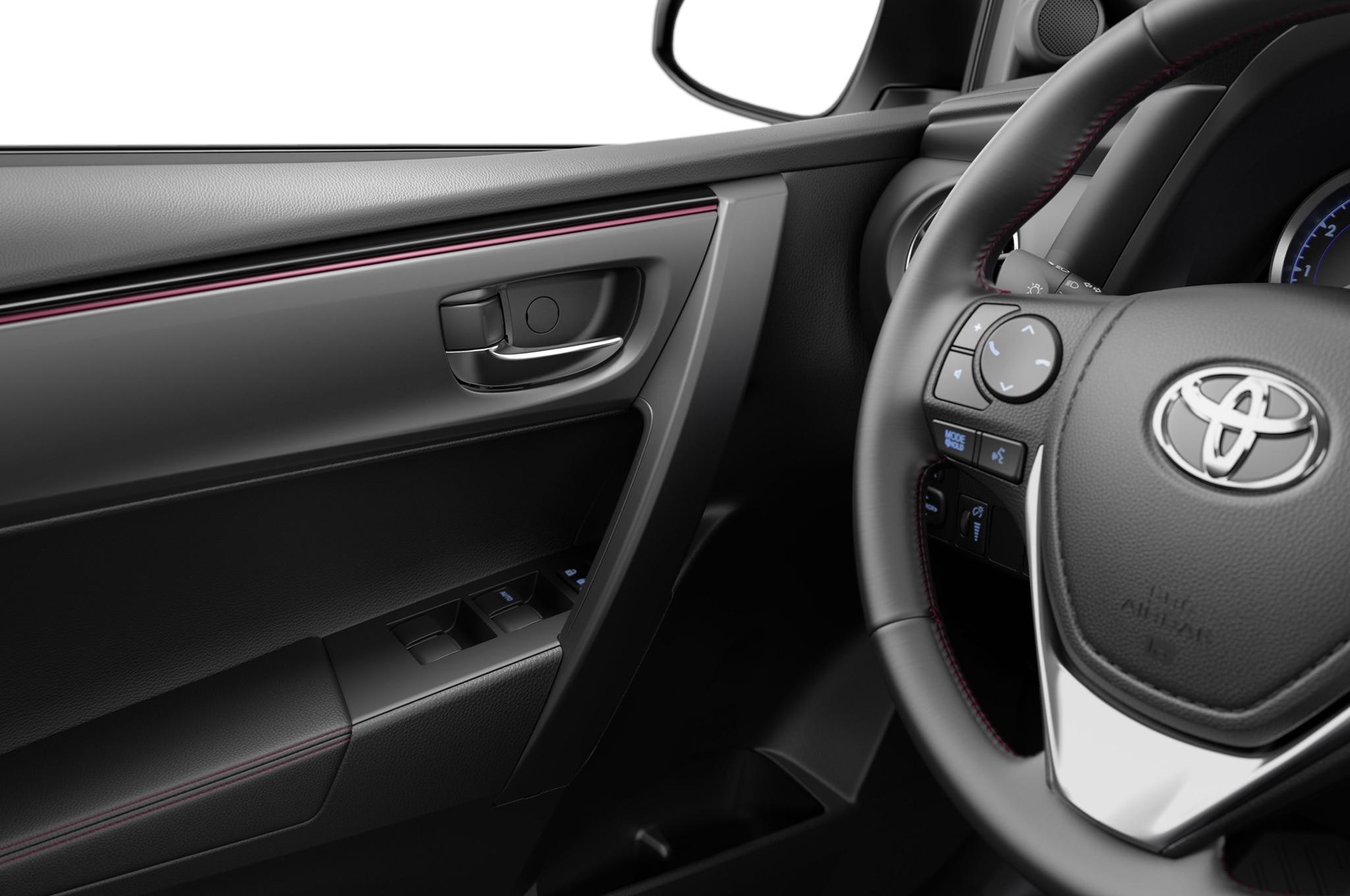2017 toyota corolla 50th anniversary edition debut in new - 2016 toyota corolla interior colors ...