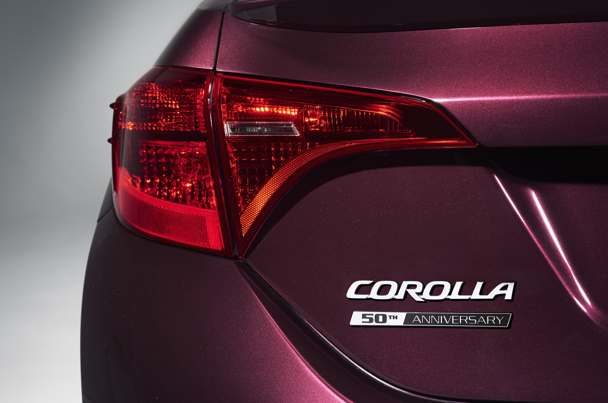 2017 Toyota Corolla 50th Anniversary Edition Debut In New