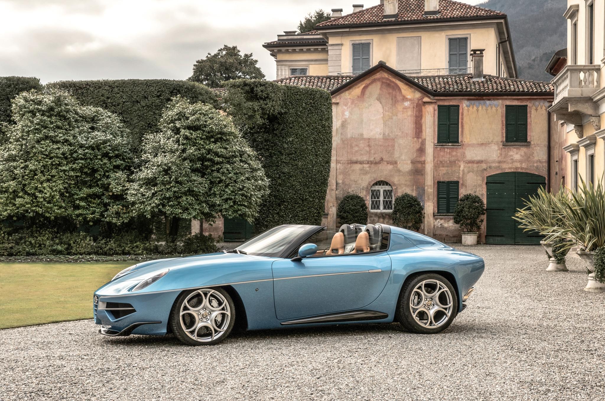 Alfa Romeo Disco Volante Price >> Carrozzeria Touring Unveils Alfa Romeo Disco Volante Spider | Automobile Magazine