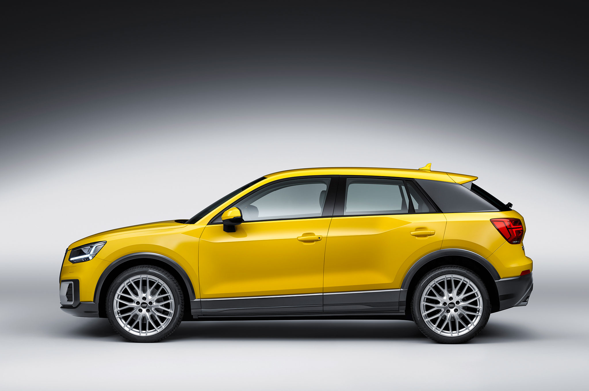 audi q2 arrives in geneva as the brand 39 s smallest suv. Black Bedroom Furniture Sets. Home Design Ideas