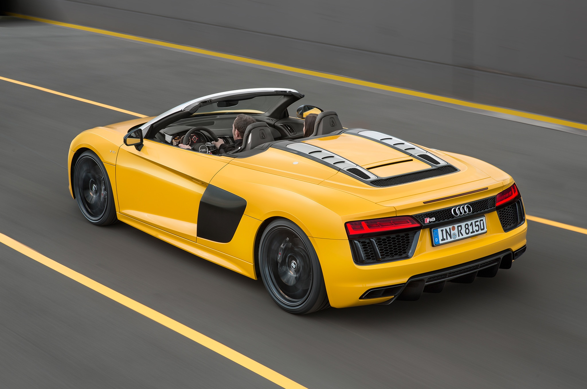 Audi r8 v10 plus top speed mph 15