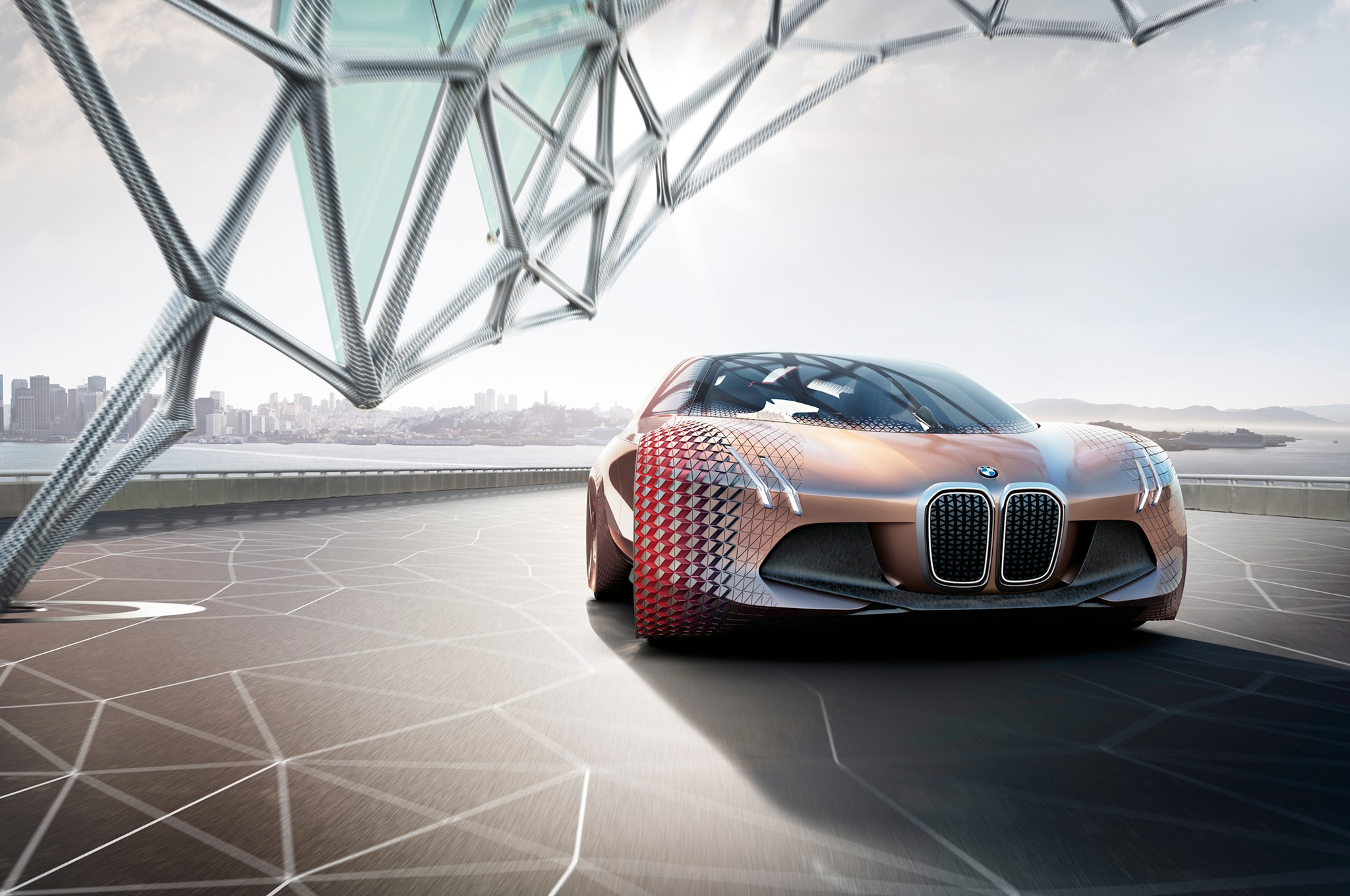 bmw vision next 100 concept headlines centenary celebration in munich automobile magazine. Black Bedroom Furniture Sets. Home Design Ideas