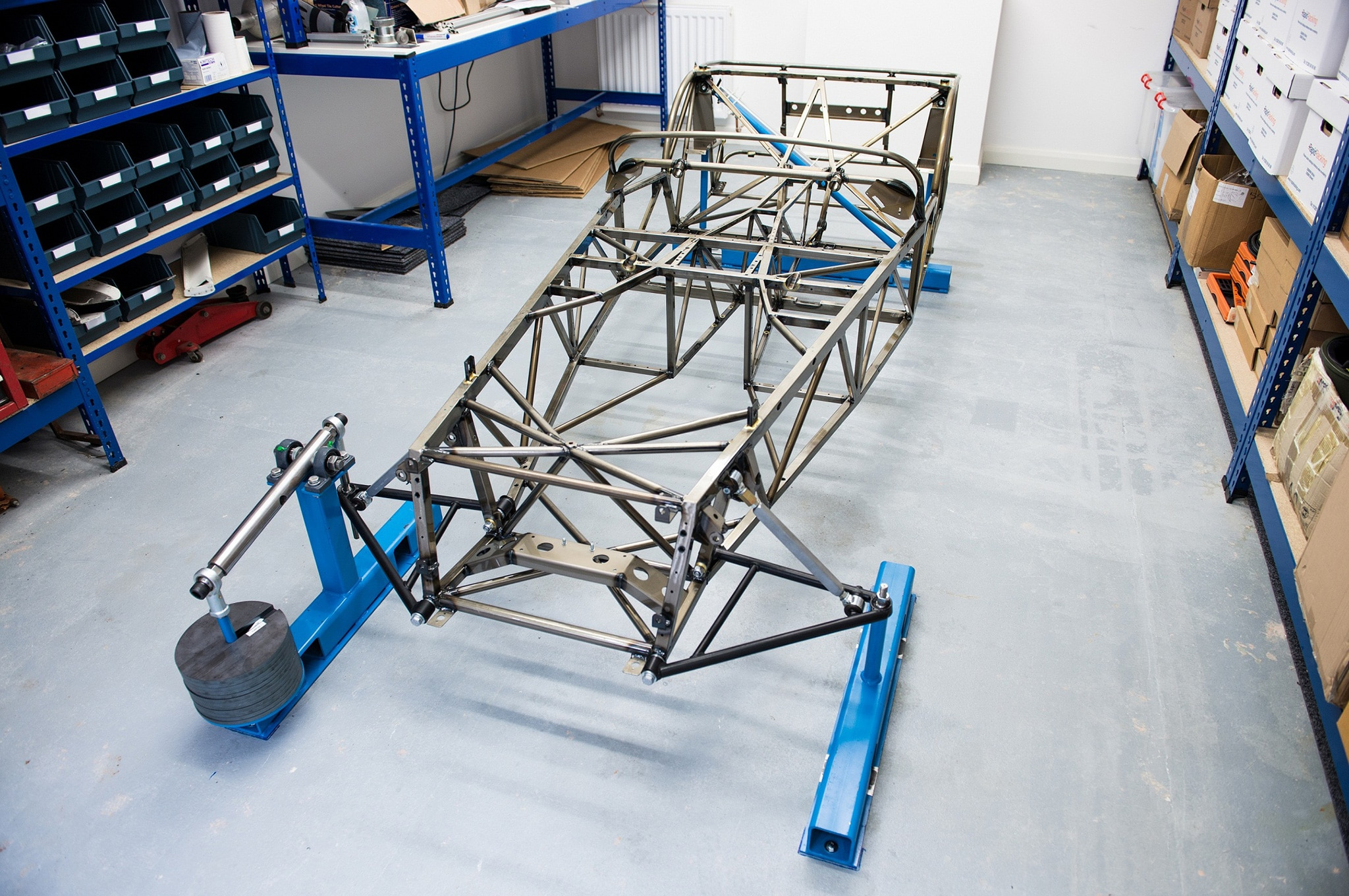 Caterham Cars Demonstrates New Chassis Design To Cut