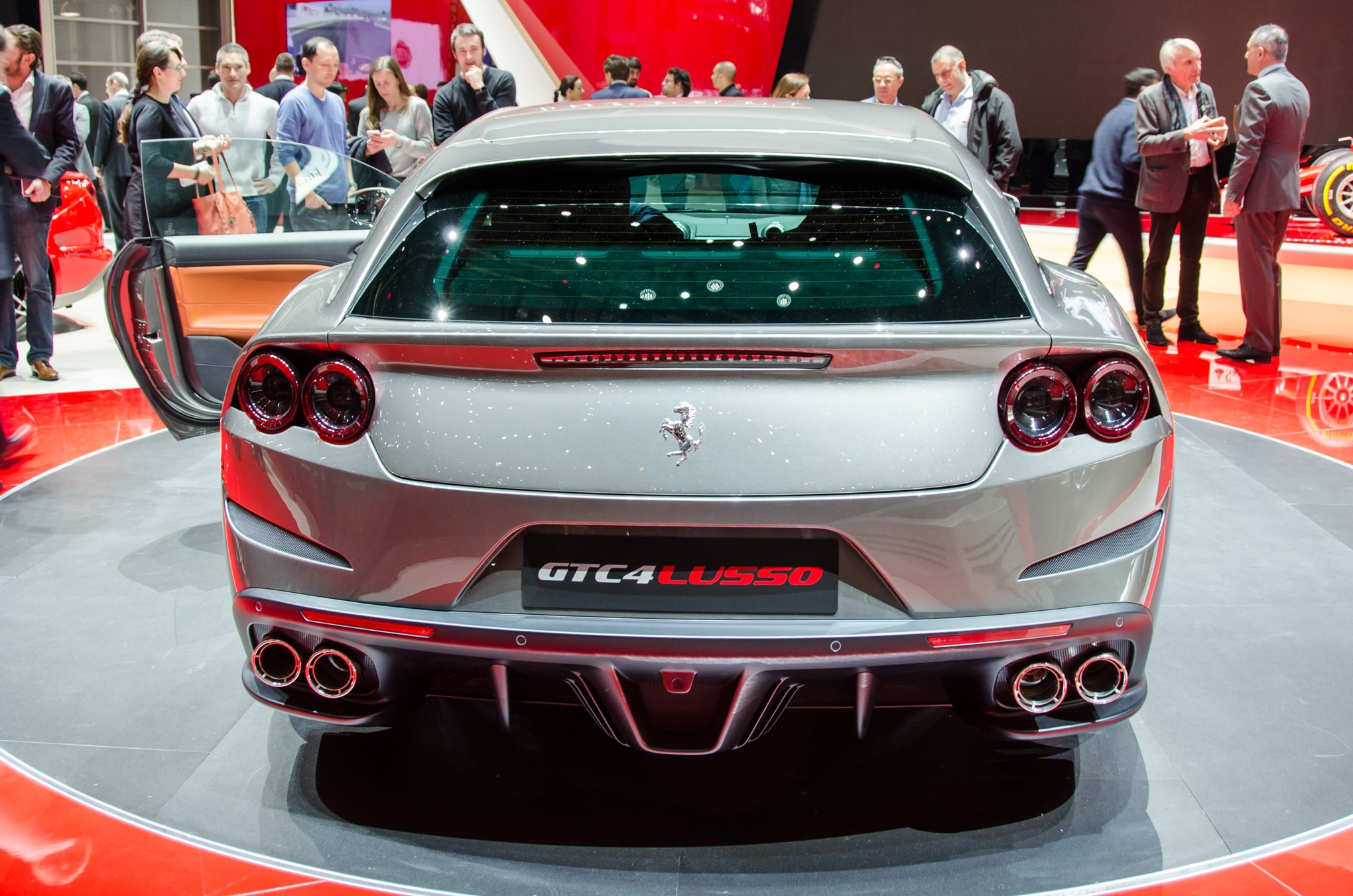Ferrari Gtc4 Lusso Revealed With New Name More Power