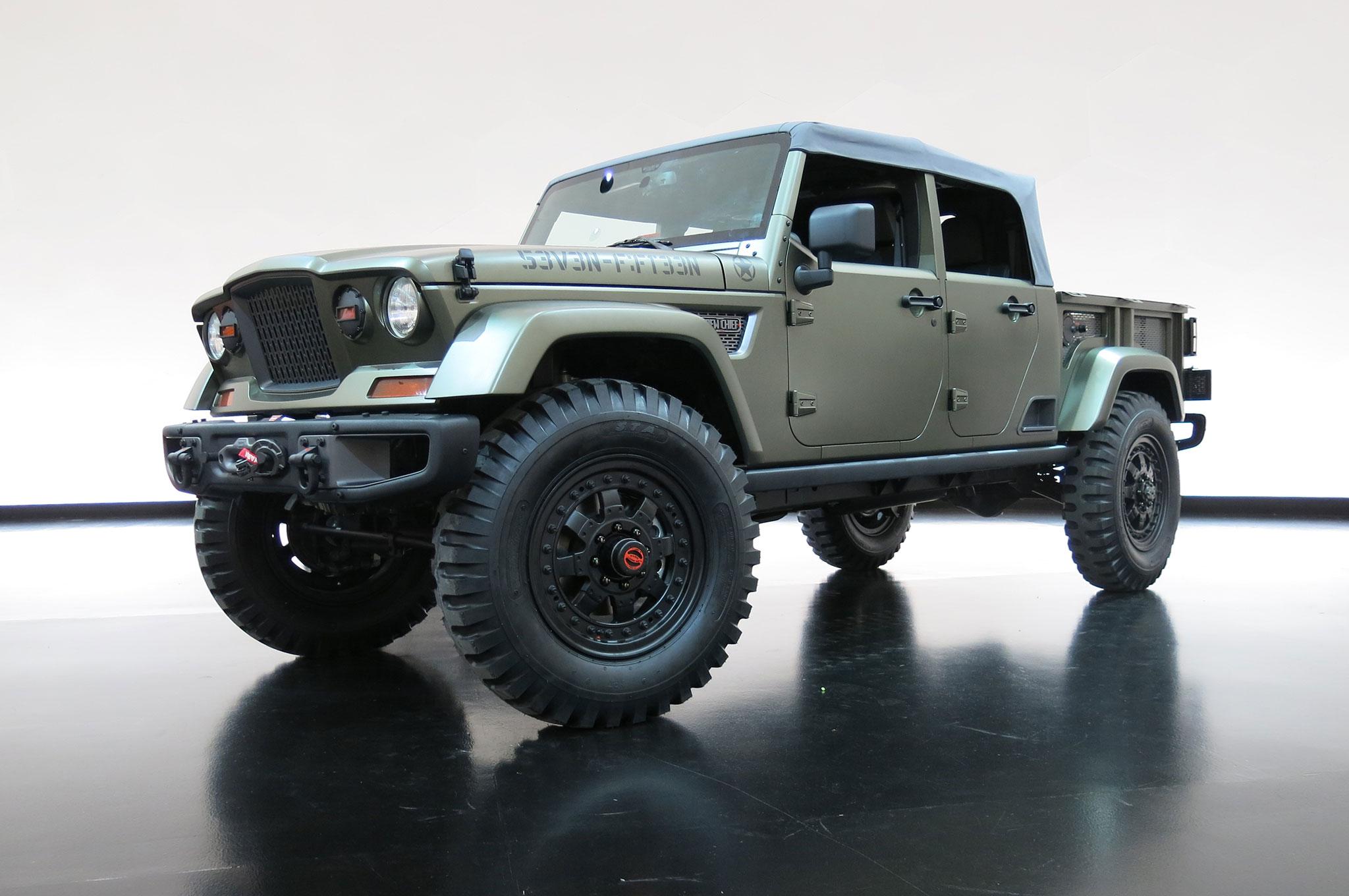 jeep trailcat concept headlines 2016 moab easter safari lineup automobile magazine. Black Bedroom Furniture Sets. Home Design Ideas